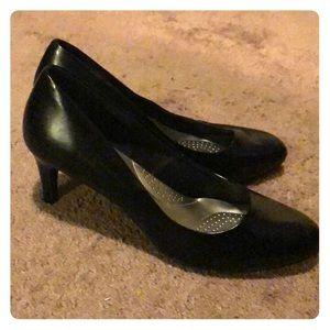 Black Dexflex Comfort Size 13 Wide Women's Heels